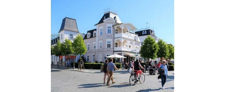 Cafe Peters in Binz